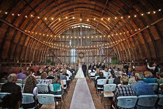 Were Dreaming OfA Barn Wedding