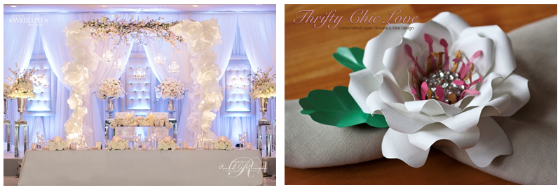 Paper Flowers The New Trend in Weddings Big City Bride