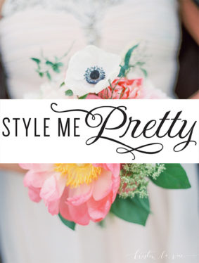 "Style Me Pretty - ""Elegant Spring Wedding at Bridgeport Art Cente"