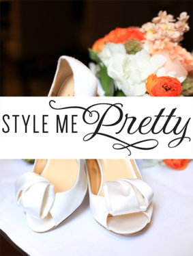 "Style Me Pretty - ""Orange Infused Wedding Celebration in Chicago"