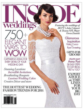 Renee Peksa - Inside Weddings 2014