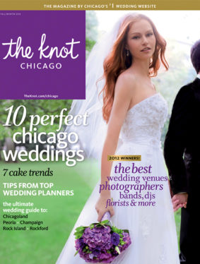 Sarah Nichols + Kim & Chad + Lauren & Mike - The Knot 2012 fall/winter