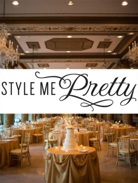 Style Me Pretty – Chicago Wedding at the Drake Hotel