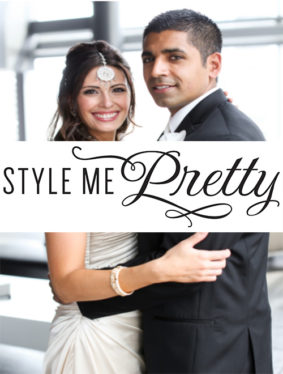 "Style Me Pretty - ""Pakistani Fusion Wedding at TheWit Chicago from Robyn Rachel Photography"