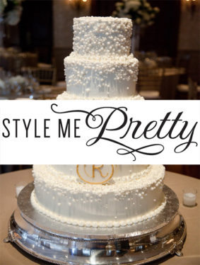 . Style Me Pretty – Champagne Country Club Wedding